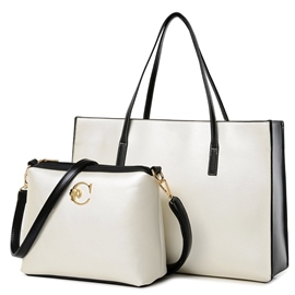 Ericdress Simple Big Capacity Handbag(2 Bags)