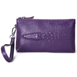 Ericdress Croco-Embossed Zipper Women Purse