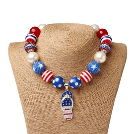 EricdressAmerican National Style Children's jewelry Necklace
