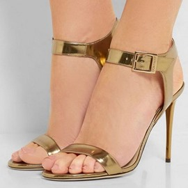 Ericdress Open Toe Ankle Strap Heel Sandals