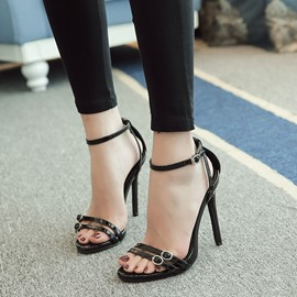 Ericdress Classic Strappy Stiletto Sandals