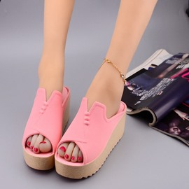 Ericdress Summer Peep Toe Antiskid Mules Shoes