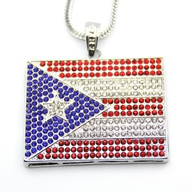 Ericdress American Flag Pendant Women's Necklace