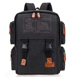 Ericdress Casual Big Capacity Canvas Backpack
