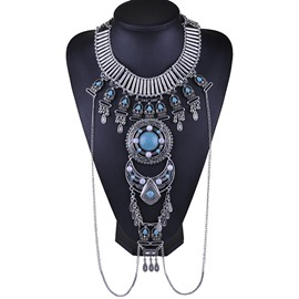 Ericdress Bohemia Style Fake Collar Women's Necklace