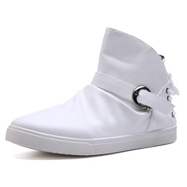 Ericdress PU Plain Buckle Men's Casual Shoes