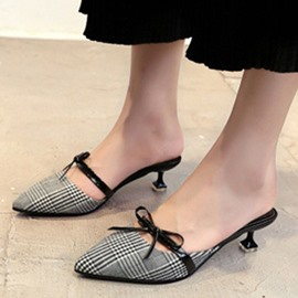 Ericdress Sexy Closed Toe Mules Shoes