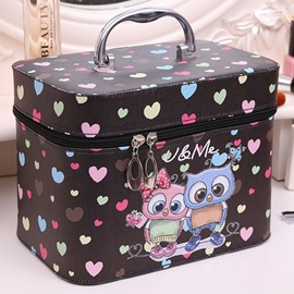 Ericdress Cartoon Printing Cosmetic Bag