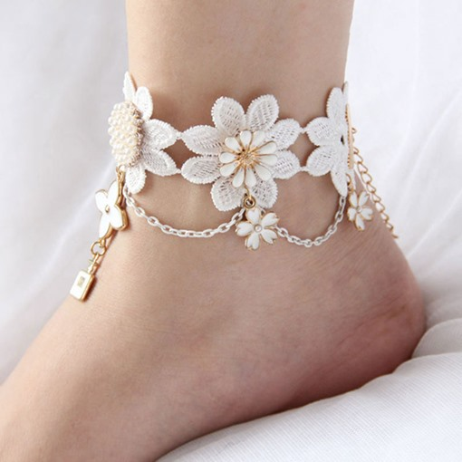 Ericdress Female Plant Anklets Anklets