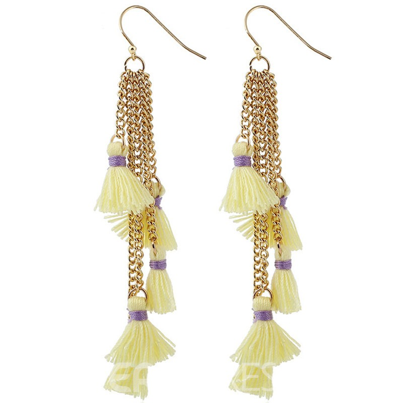 Ericdress Cute Tassel Womens Fashion Earring