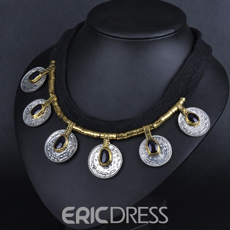 Ericdress Vintage Alloy Charm Necklace for Women