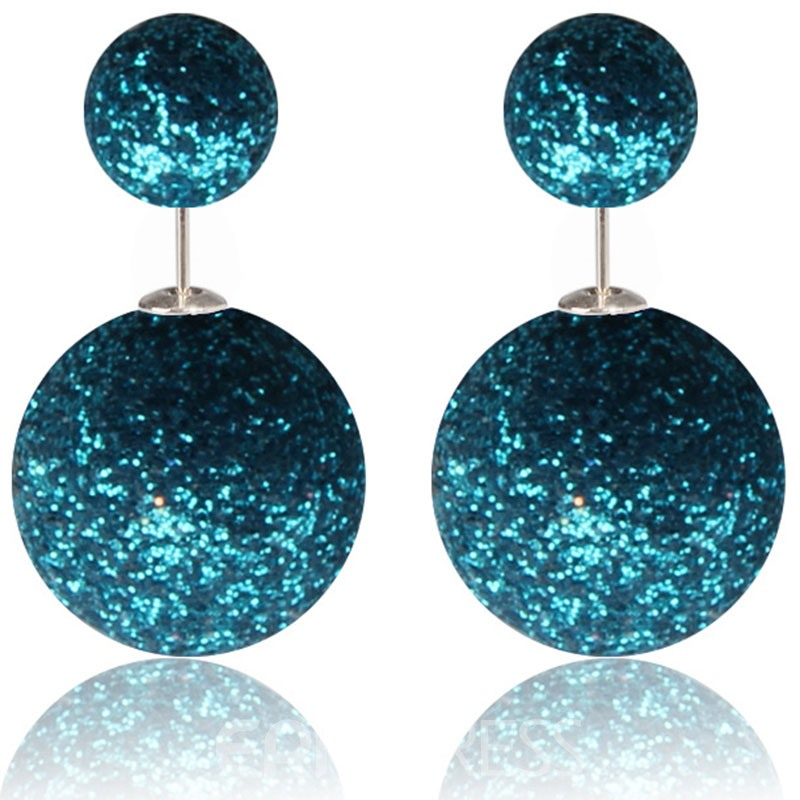 Ericdress Sparkling Ultra Violet Women's Stud Earring