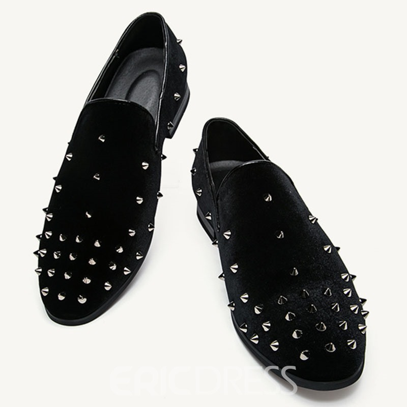 Ericdress Suede Rivets Decorated Men's Shoes