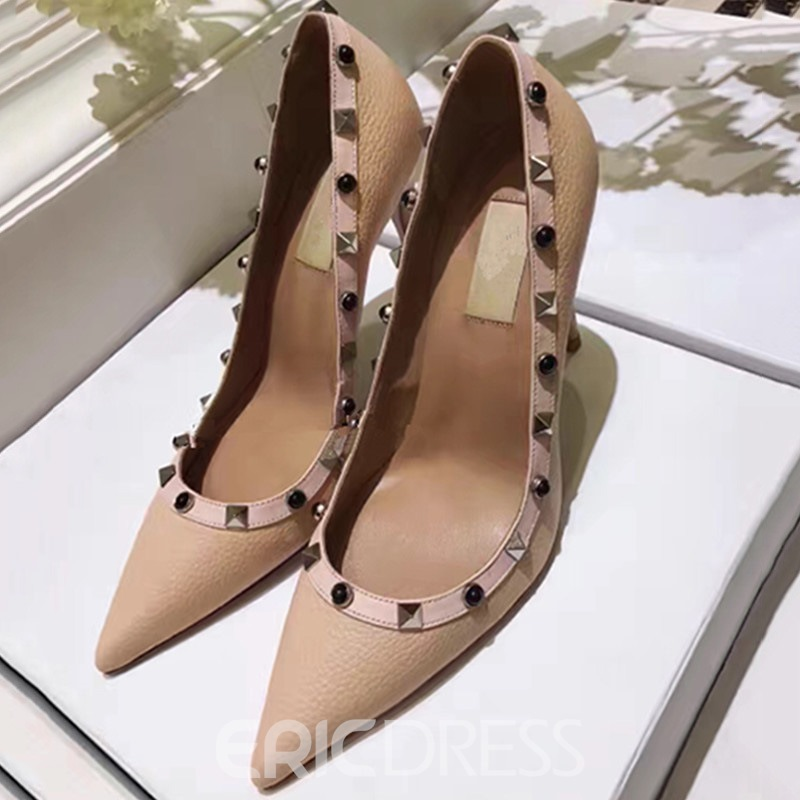 Ericdress Lichee Pattern Point Toe Pumps