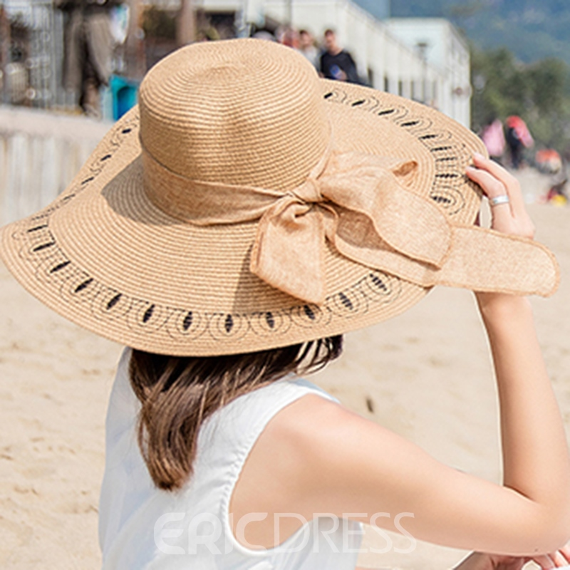 Ericdress Foldable Summer Beach Sunhat