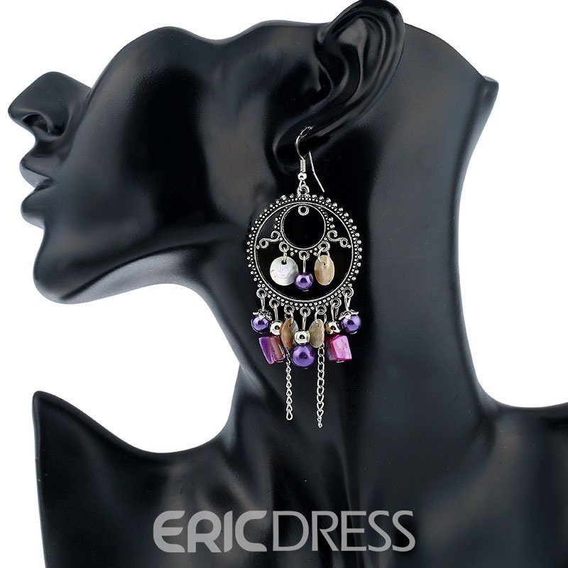 Ericdress National Style Tassel Women's Drop Earring