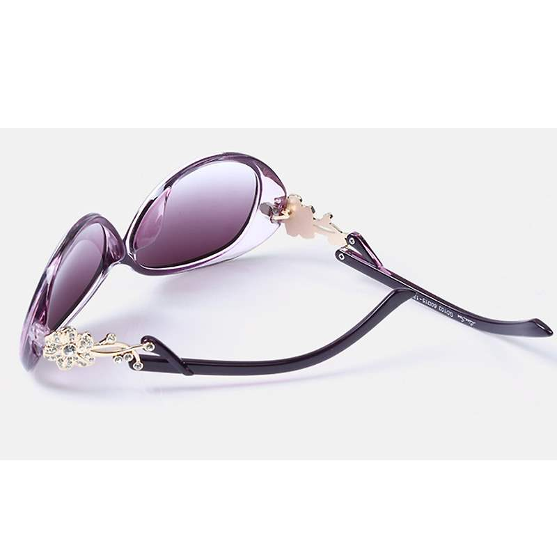Ericdress Ultra Violet Frame Polarized Sunglasses