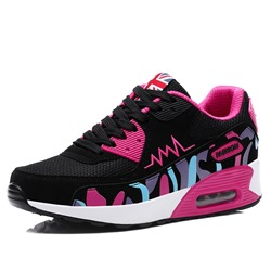 Ericdress Mesh Round Toe Lace-Up Womens Athletic Shoes ericdress
