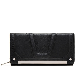 Big Capacity Color Block Women Wallet