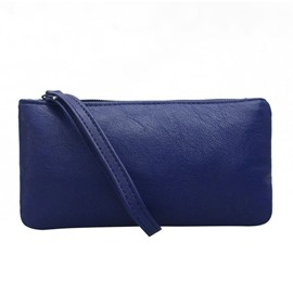 Ericdress Simple Solid Color Long Type Wallet
