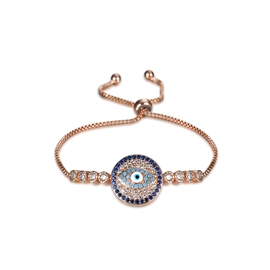 Ericdress Eye Pattern Rose Gold Women's Bracelet