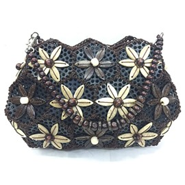 Ericdress Ethnic Style Shell Shape Coconut Crossbody Bag