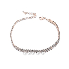Ericdress Pearl Pendant Alluring Women's Anklet