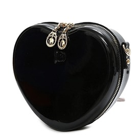 Ericdress Simple Heart-Shaped Zipper Clutch