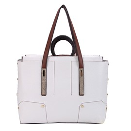 Ericdress Versatile Splicing PU Women Handbag