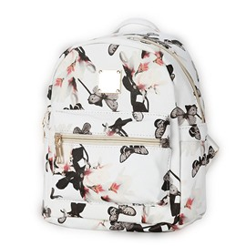 Ericdress Leisure Trendy Floral Printing Canvas Backpack