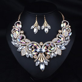 Ericdress Royal Style Fully-Jewelled Women's Jewelry Set