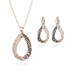 Ericdress Diamante Necklace & Earring Women's Jewelry Set