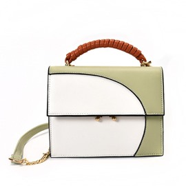 Ericdress Korean Style Color Block Crossbody Bag