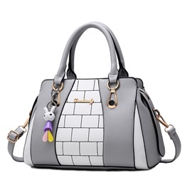Ericdress Korean Style Color Block Women Handbag