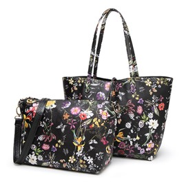 Ericdress Luxury Floral Printing Women Bag Set (2 Bags)
