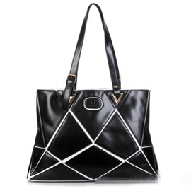 Ericdress Personality Geometric Patchwork Shoulder Bag