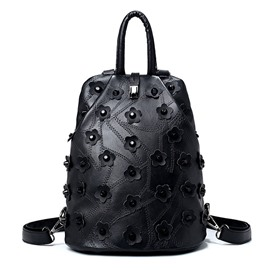 Ericdress Floral Rivets Decoration Women Backpack