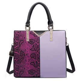 Ericdress Graceful Color Block Women Handbag