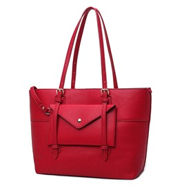 Ericdress Versatile PU Leather Women Tote Bag