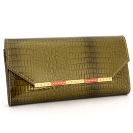 Ericdress European Style Crocodile Grain Wallet