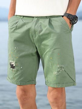 Ericdress Holes Loose Casual Men's Shorts