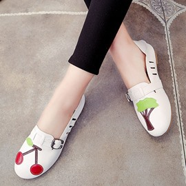 Ericdress Cartoon Closed Toe Flats