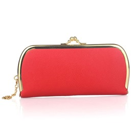 Ericdress Candy Color Litchi Stria Evening Clutch