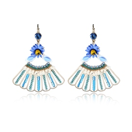 Ericdress Flower Pendant Drop Earring for Women