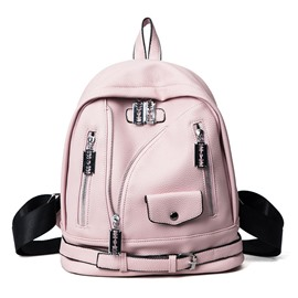 Ericdress Punk Style PU Women Backpack