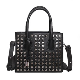 Ericdress Korean Style Rivets Adornment Handbag