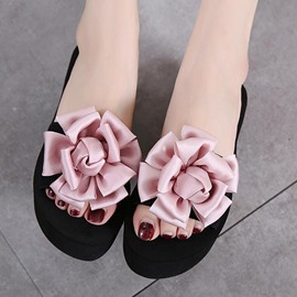 Ericdress Bohemian Flower Beach Mules Shoes