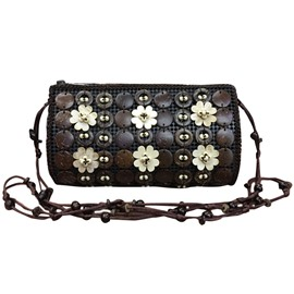 Ericdress Ethnic Style Coconut Shell Crossbody Bag