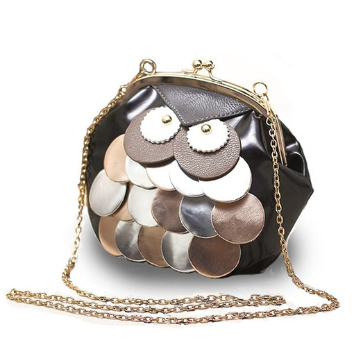Ericdress Novelty Owl Design Chain Crossbody Bag