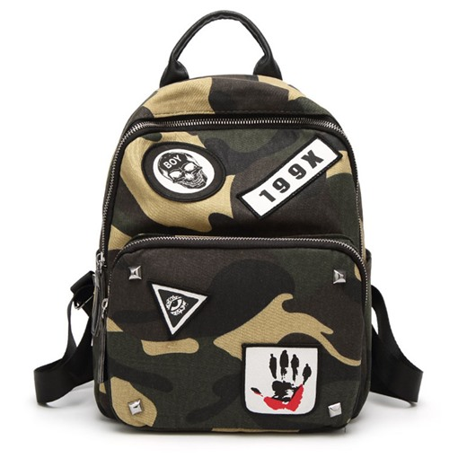 Ericdress Fashion Camouflage Design Oxford Backpack